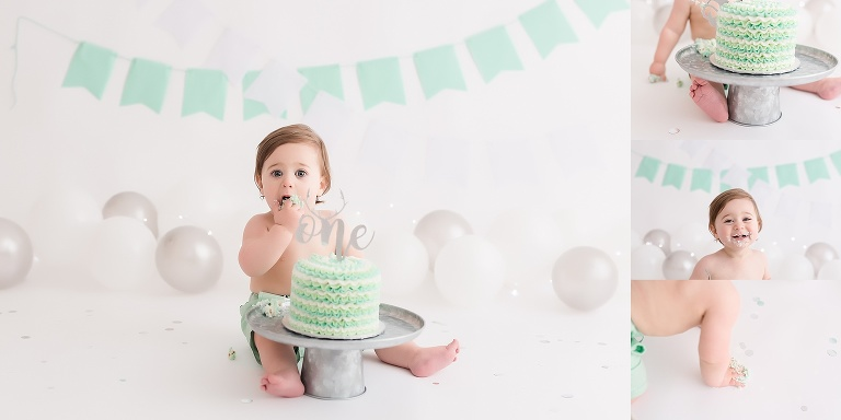 baby boy,cake smash,mint cake smash,woodstock ontario cake smash photographer,
